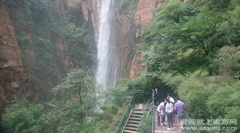 河北邢台九龙峡自然风景区旅游景点