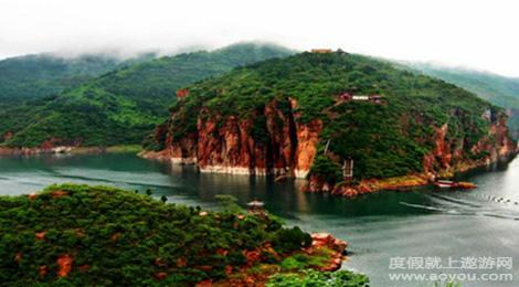 河北邯郸七步沟景区旅游景点