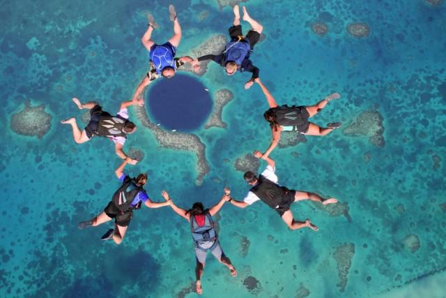 此生必去的全球最美跳伞地!