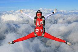 专访捷克著名跳伞家Rosina Kasickova
