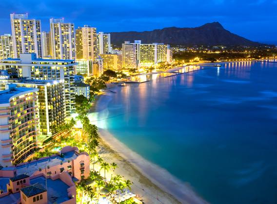 【性價比優選】美國夏威夷5晚7天百變自由行【國航北京直飛/曼麗天際/半自助】