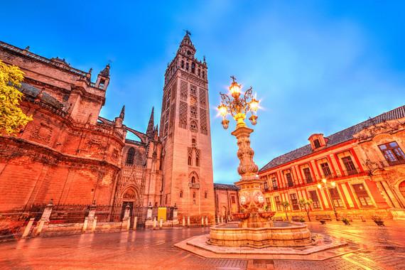 【立减499元】乐活西班牙一地8日 马德里+巴塞罗那自由活动 托莱多 瓦伦西亚 高迪之城 LA ROCA购物村