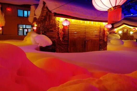 【美丽中国】哈尔滨/雪乡/二龙山影视城双卧5日游【经典景点/俄罗斯小镇/冰雪大世界】