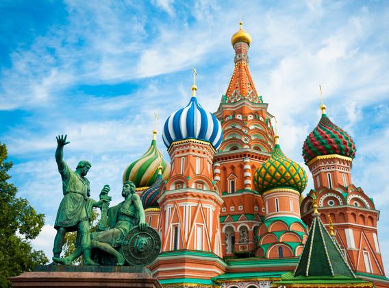 歐洲俄羅斯雙城記7晚9天百變自由行【行程天數可調/城市順序可調/含城際間交通】