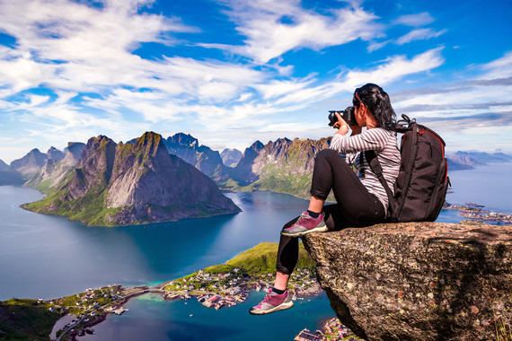 【大自然的赋予】罗弗敦群岛 挪威布道石10日游【出海垂钓/冰酒吧/观鲸】