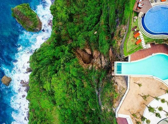 【为你写真】巴厘岛5晚7天半自助【海边五星/1日旅拍/悬崖玻璃泳池/海景下午茶】