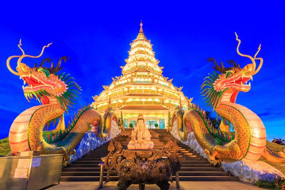 【三城全景】曼谷+清迈+清莱5晚深度全景游7日游【全程泰式五星酒店(网评四钻)】