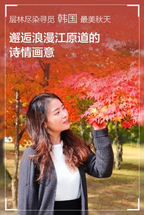 层林尽染寻觅韩国最美秋天,邂逅浪漫江原道的诗情画意